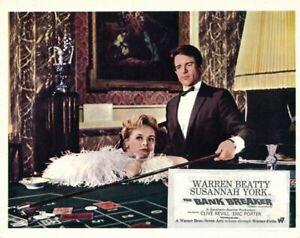 Kaleidoscope original lobby card Warren Beatty Susdannah York croupier table