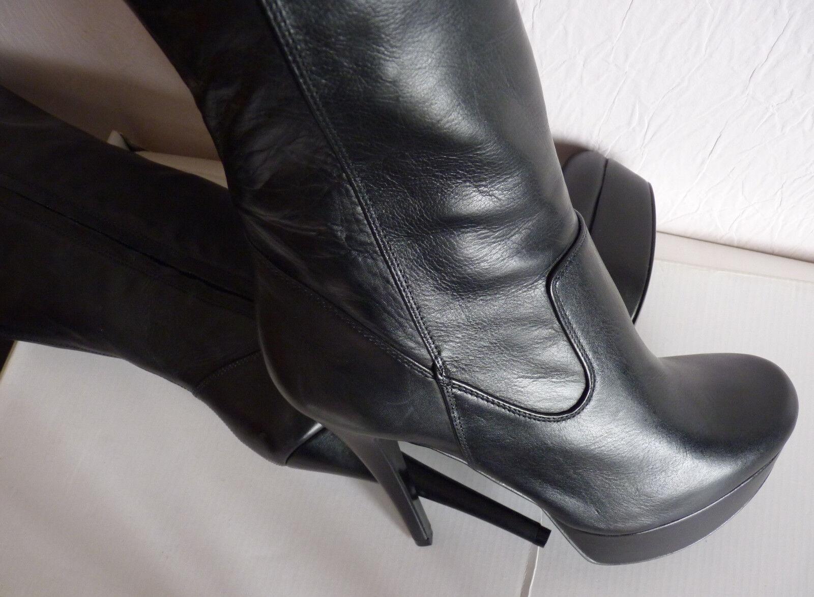 Sexy - class bottes ALDO cuir noir T. 40 Neuves - 65 euros au lieu de 165 euros