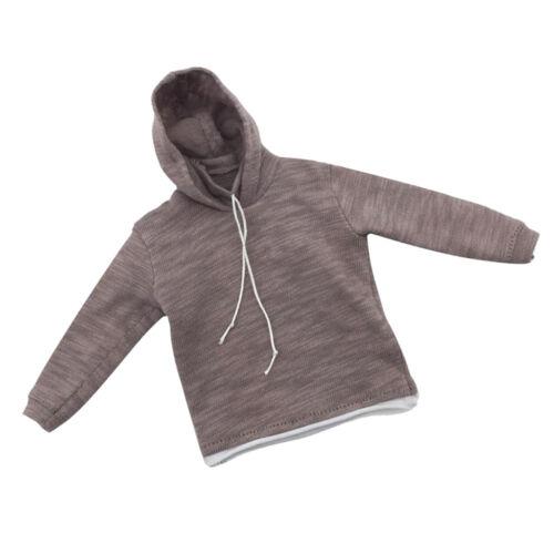 """1//6 Scale male figure Hoodie Sweatshirt pour Dragon DML HT 12 /""""Action"""
