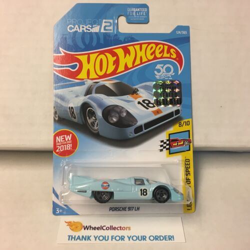 GULF Tampo F25 Limited FACTORY SET 2018 Hot Wheels Porsche 917 LH #124