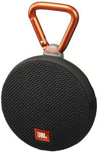 JBL-Clip-2-Portable-Bluetooth-Speaker-Waterproof-Black-JBLCLIP2BLKAM