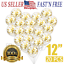 20pcs-Gold-Confetti-Balloons-Latex-Rose-Gold-Wedding-Birthday-Party-Decor-12-034-US thumbnail 1