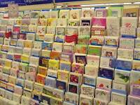 Closeout Lot Of 150 Assorted Greeting Cards & Invitations. Birthday, Etc. New!