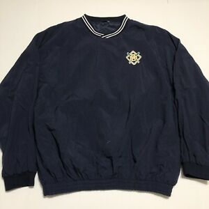 Vintage-90s-Milwaukee-Brewers-Windbreaker-Pullover-Size-XL