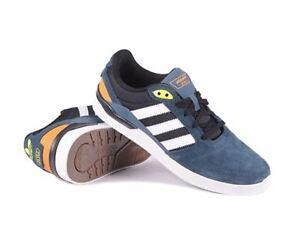 043abf2e0 Adidas Mens ZX Vulc Skate Shoe  Midnight Blue-White-Solar Yellow ...