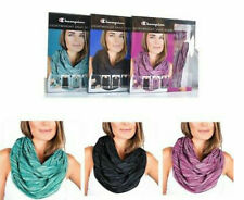 3 PACK of *NEW* Champion Women/'s Lightweight Snap Scarf Variety FREE SHIPPING
