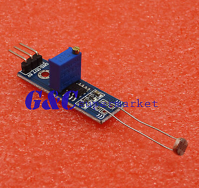 5PCS LM393 Optical Photosensitive light sensor module Shield DC 3-5V M194