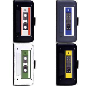 PIN-1-Art-Cassette-Tape-Design-Phone-Wallet-Flip-Case-Cover-for-LG-Motorola