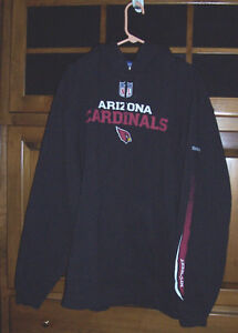 50f067091564 Image is loading NFL-Arizona-Cardinals-Reebok-hooded-sweatshirt-hoodie-XL-