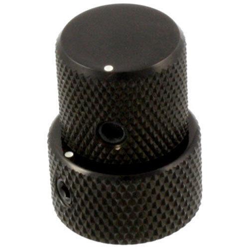 BLACK VK18T Mini Stacked Concentric Knob Fit EMG Bartolini NEW Gotoh VK15T