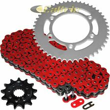 Red O-Ring Drive Chain & Sprockets Kit Fits HONDA CR250R 1992-1995 2005-2008