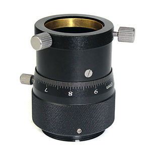 """Metal High Precision Double Helical Focuser for 1.25"""" Telescope / Finder Scope"""