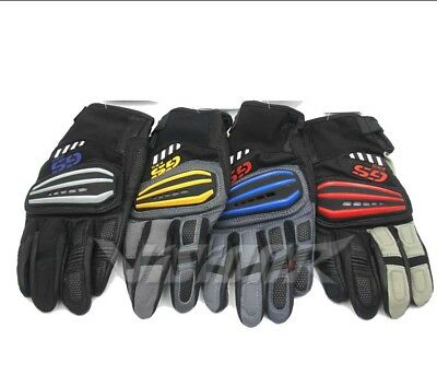 Motorrad GS Pro Gloves for BMW GS1200 Rallye 4 Motocross Motorbike Size XL Red