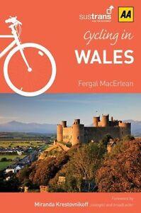 CYCLING-IN-WALES-AA-PUBLISHING-FERGAL-MacErlean-BRAND-NEW-FREEPOST-UK