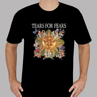 TEARS FOR FEARS English Pop Rock Band Men/'s T-Shirt 100/% Cotton