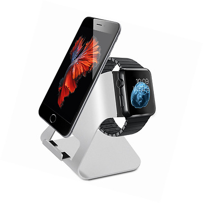 Apple Watch Stand,Charging Stand Holder Dock for apple Watch and iPhone