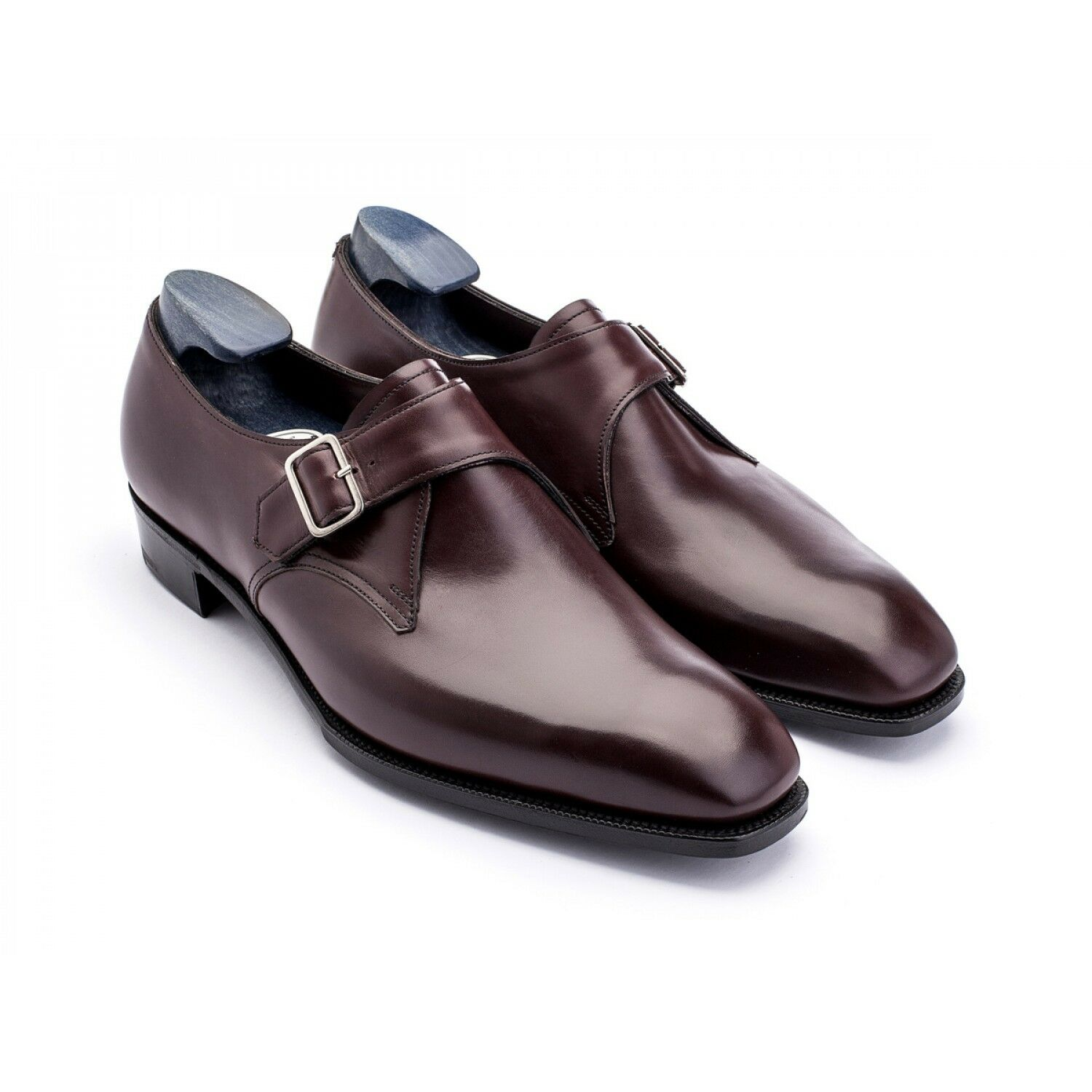 Anthony Cleverley Chow Burgundy Calf