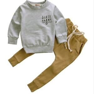60ad38525d1d4 Baby Sweater Set Coat + Pants Autumn Winter Thick Fashion Anchors ...