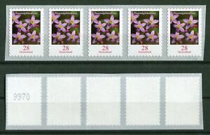 Bund-3094-R-Blumen-5-er-Streifen-waagerecht-aus-10000-er-Box-postfrisch-MNH