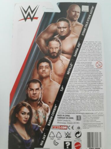 Samoa Joe WWE MATTEL SERIE 79 Figure-Stone Cold Neville Corbin Nia Jax tjp