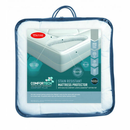 Tontine Comfortech Stain Resistant Waterproof Mattress Protector