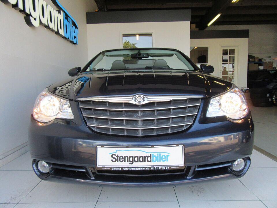 Chrysler Sebring 2,7 Cabriolet aut. Benzin aut.