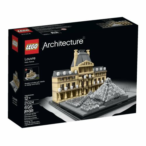LEGO® Architecture 21024 Louvre NEU NEW OVP MISB