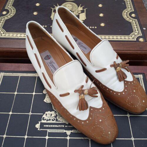 Vintage gucci loafers men