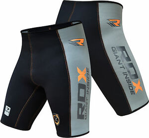 rdx neoprene shortsthermal compression sauna suit weight loss mma mens pant us ebay. Black Bedroom Furniture Sets. Home Design Ideas
