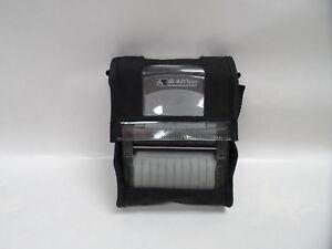 Zebra QL420 black  protect Soft Case (printer not include) with shoulder strap