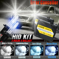 Ac 55w Hid Conversion Kit H1 H3 H4 H7 H8 H10 H11 9006 Xenon Light For Cayenne