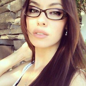 7f25d2703dfd Rectangle Full Rim Frame Women Clear Lenses Sexy Eyeglasses Glasses ...