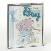 Me To You Birth Of Boy Celebrations Boxed Card Large & Handmade - Tatty Teddy