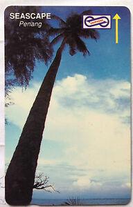 Malaysia-Used-Phone-Card-Seascape-Penang