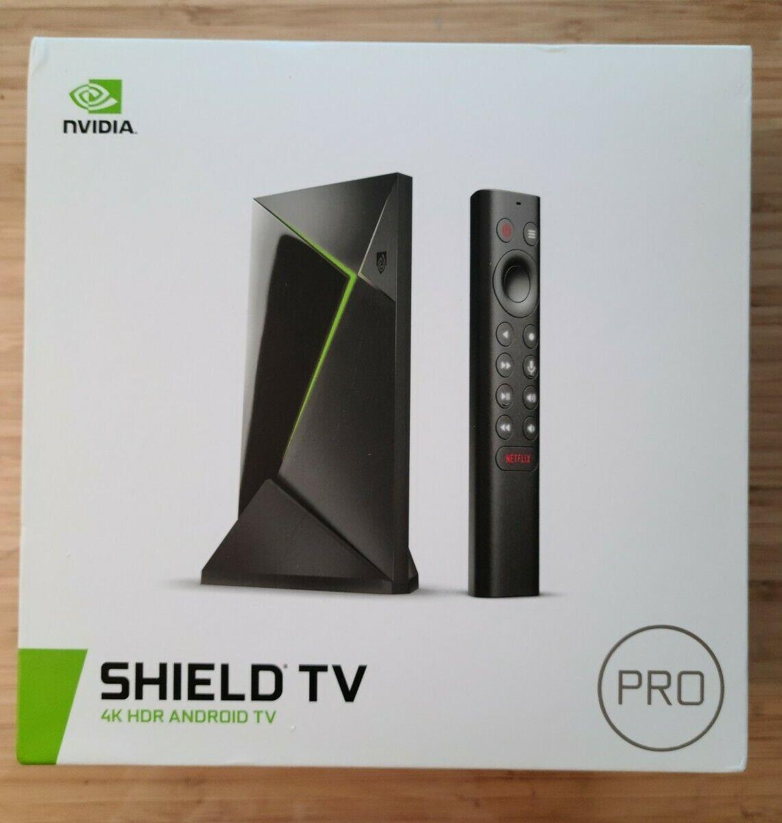 NEW NVIDIA Shield TV Pro 4K UHD Streaming Media Player media new nvidia player pro shield streaming uhd