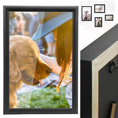 Bilderrahmen Fotogalerie Fotorahmen Collage Foto Poster Rahmen Galerie Holz 2in1
