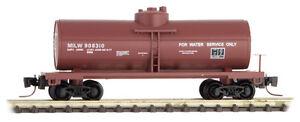 Milwaukee-Road-39-039-Single-Dome-Tank-Car-Z-Scale-MTL-530-00-431-Rd-908310
