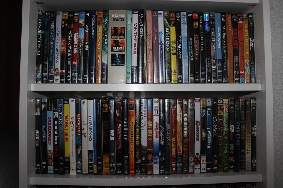 Diverse, instruktør Diverse, DVD