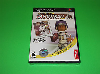 PS2 PLAYSTATION 2 BRAND NEW BACKYARD FOOTBALL 2006 VIDEO ...