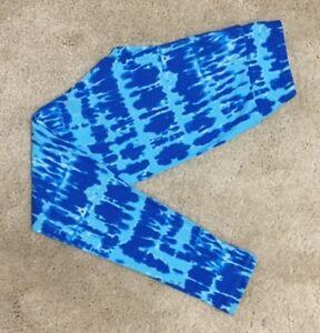 1f811506cb729 LuLaRoe Leggings ~ OS ~ CAMO SHADES OF BLUE ~ Tie Dye ~ *UNICORN ...