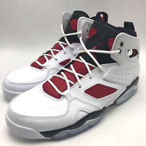 Nike Jordan FLIGHT CLUB  91 Men s Basketball White   Gym Red-Black ... ee6f3bd78