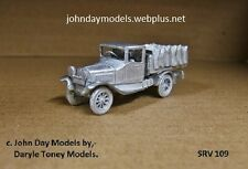 00/4MM  JOHN DAY WHITE METAL KIT **NEW**  FORD COAL LORRY 1920's