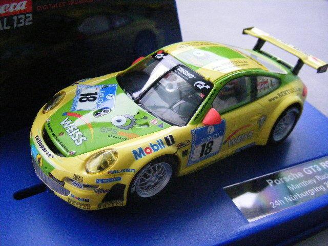 Carrera Digital 132 30609 Porsche GT3 RSR Manthey Racing, 24h Nürburgring 2011     Neuer Markt
