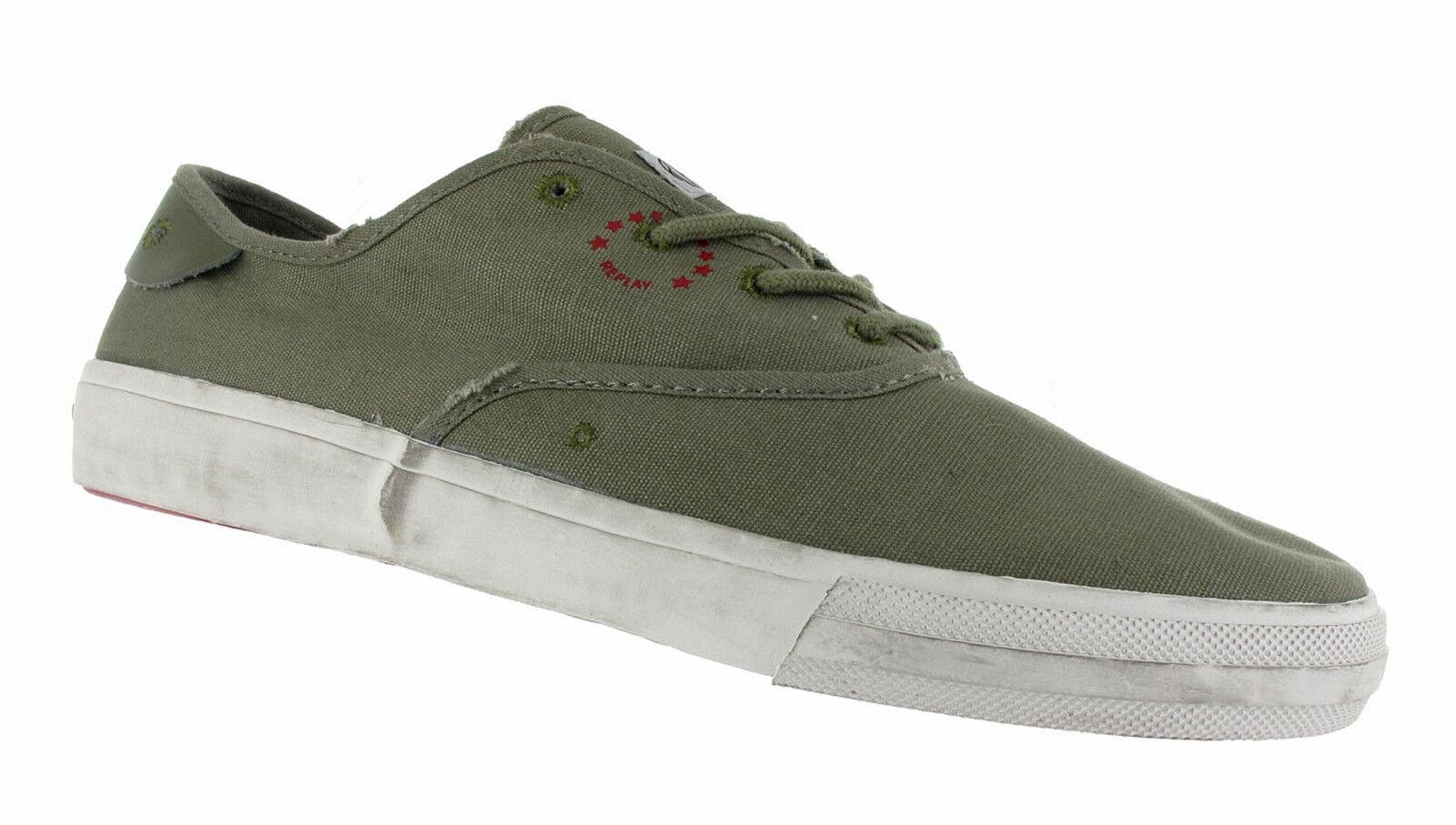 REPLAY Sneaker RV370005T - Pasadena - army RV370005T Sneaker 9b37c7