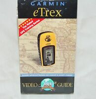 Garmin Etrex Video Operation Guide Vhs Tape Sealed