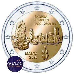 2-euros-commemorative-MALTE-2020-Skorba-UNC-100-000-exemplaires-seulement