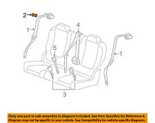 Chevrolet GM OEM 14-16 Malibu Front Seat Belts-Belt /& Retractor Right 19332407