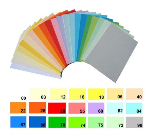 DIN-A4 20 Blatt Grußkarten-Papier 160 g//m² FARBWAHL