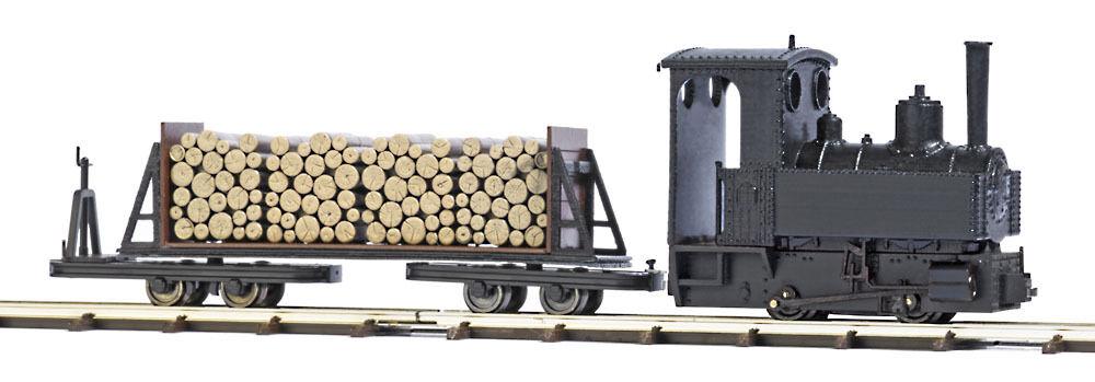 Busch Ferrovia 12011 Feldbahn Starter Set con Locomotiva a Vapore   Nuovo in Ovp