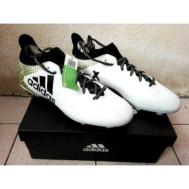 ADIDAS TECHFIT X 16.3 FG FOOTBALL SOCCER SHOES BOOT SPORTWEAR SIZE US 8